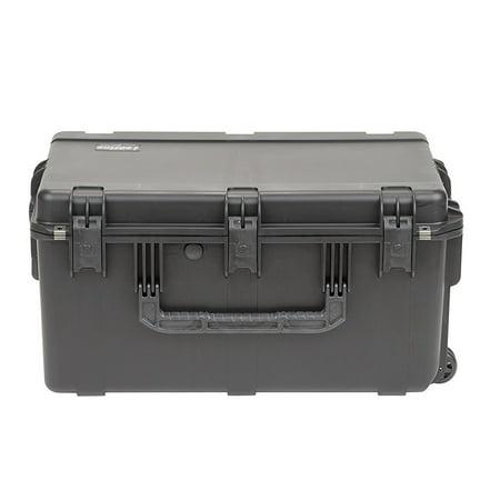 SKB Cases iSeries Pro Audio Large Hard Plastic Wheeled Waterproof Utility Case