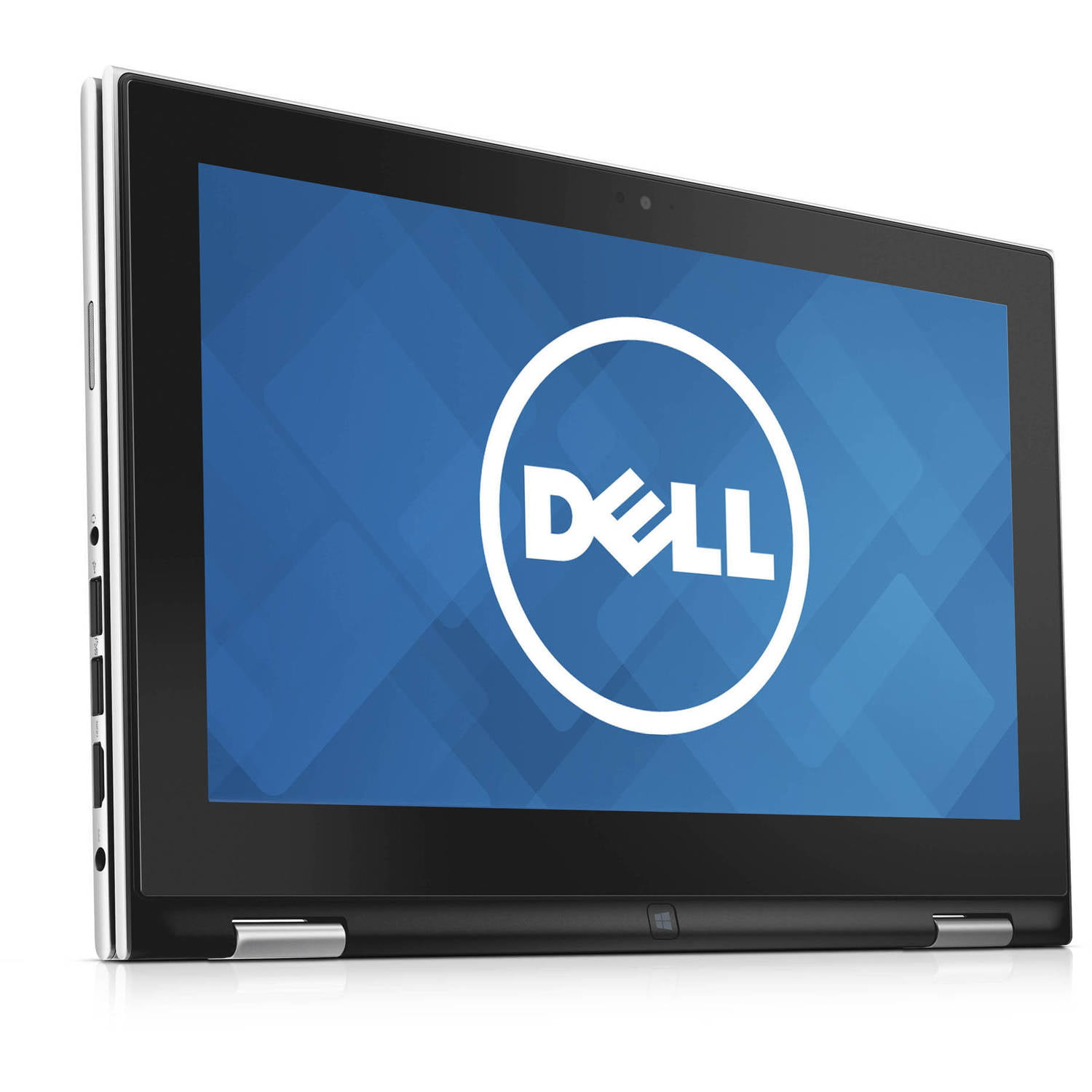 """Dell Silver 11.6"""" Inspiron 3157 touch screen 2-in-1 Convertible Laptop PC with Intel Celeron N3050 Processor, 2GB Memory,32GB eMMC Storage and Windows 10"""