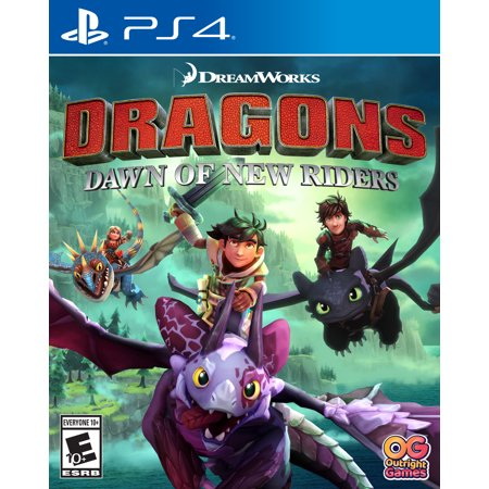 Dragons - Dawn of New Riders, Outright Games, PlayStation 4, 819338020631