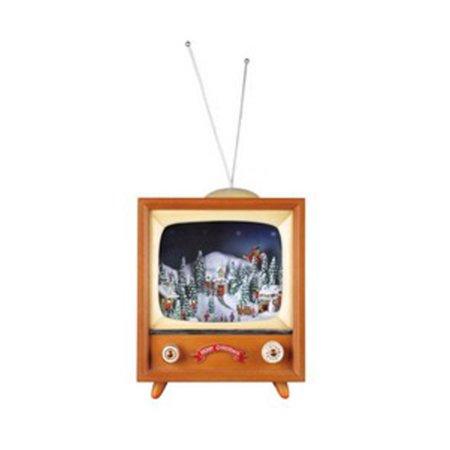 14  Icy Crystal Animated Musical Illuminated Christmas Tv Figure