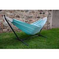 Vivere's Combo - Polyester Aqua Hammock with Stand (9ft)