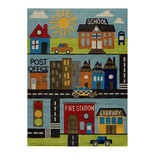 Momeni Lil mo whimsy LMJ12 Area Rug - Town