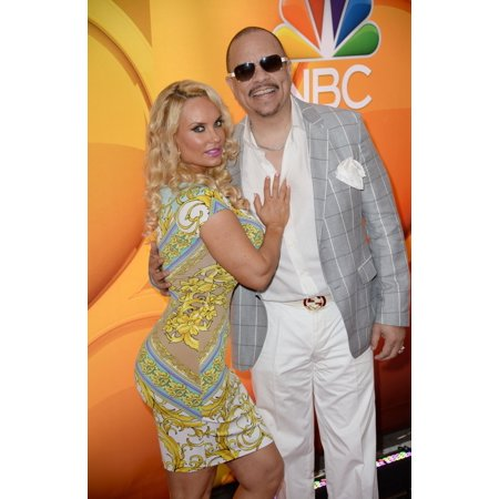 Coco Ice - Coco Austin Ice-T At Arrivals For Nbc Network Upfronts 2015 Radio City Music Hall New York Ny May 11 2015 Photo By Kristin CallahanEverett Collection Celebrity