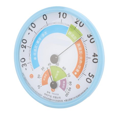 Image of Ejoyous Greenhouse Temperature Humidity Meter Gauge Monitor Dial Thermometer Hygrometer for Farm,Thermometer Hygrometer, Dial Thermometer Hygrometer