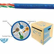 ICC ICC-ICCABR6EBLM CAT6e CMR PVC Cable Blue