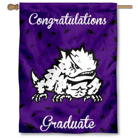 Texas Christian Horned Frogs New Graduate Banner