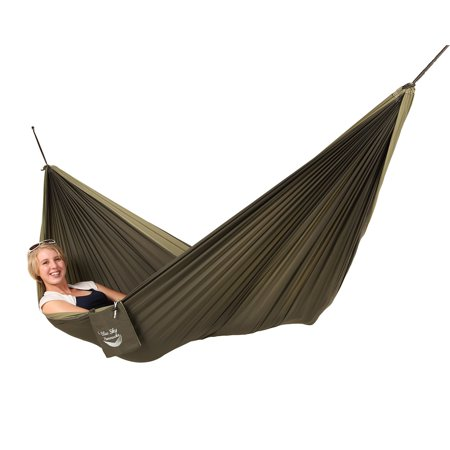 Blue Sky Outdoor Couples Double Hammock with Straps