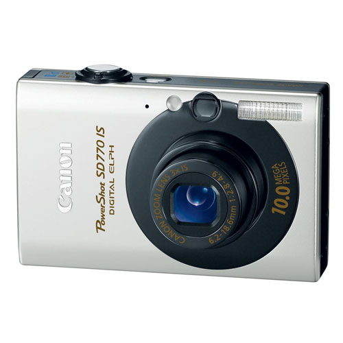 Canon PowerShot SD770IS 10MP Digital Camera with 3x Optic...
