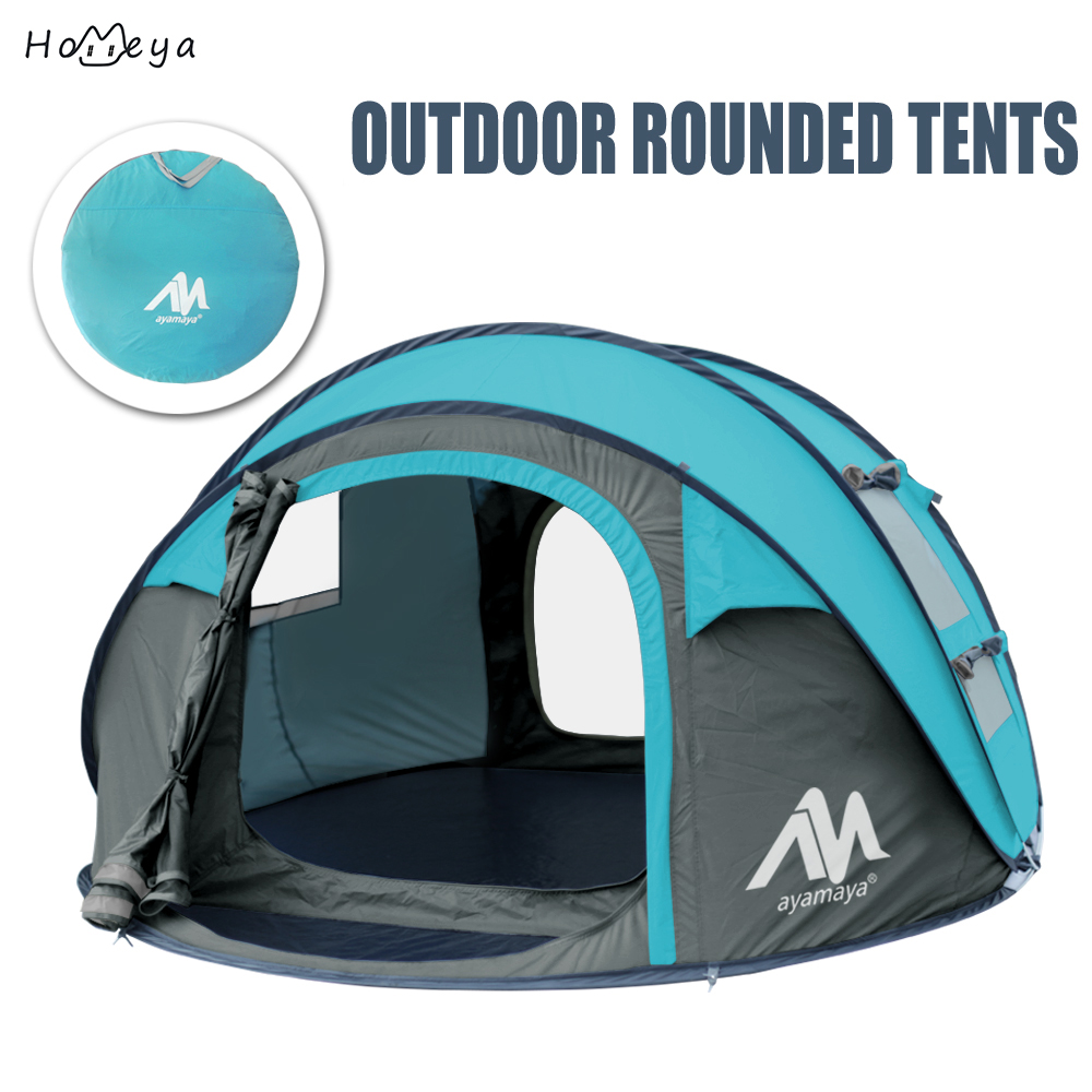 Camping Gear Waterproof Privacy Automatic Pop Up Big Family