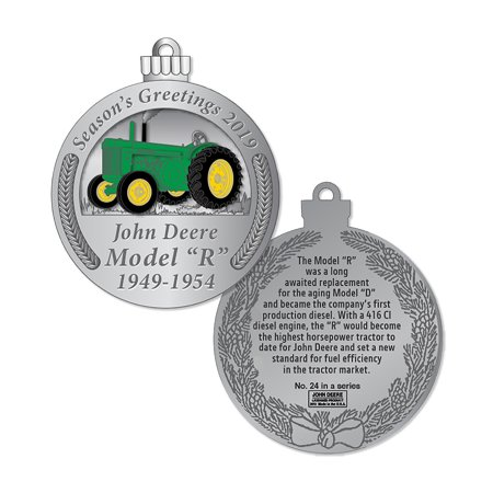 John Deere 2019 Limited Edition Christmas Ornament - LP73722,1 ()