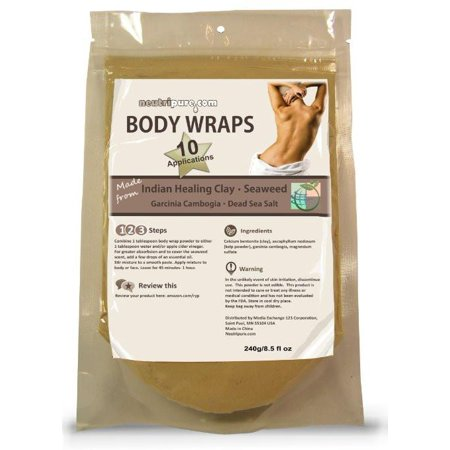 DIY Slimming Body Wraps: SPA Formula for Home Use: Seaweed, Healing Clay, Garcinio Cambogia, and Dead Sea Salt