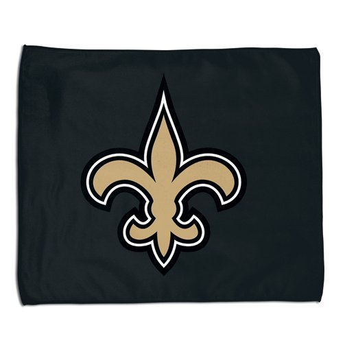 New Orleans Saints NFL Rally Towel 15x18 Sports Fan Football Hand Kitchen Bar Rag Officially Licensed NFL Merchandise