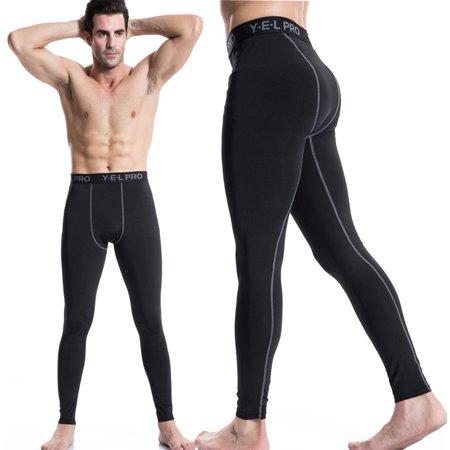 4456c4f5c8 Senfloco Men's Athletic Pants for Sports Compression Long Trousers Terylene  and Spandex, 6 Colors, Blue - Walmart.com