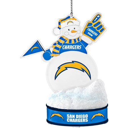 - Topperscot by Boelter Brands NFL LED Snowman Ornament, San Diego Chargers