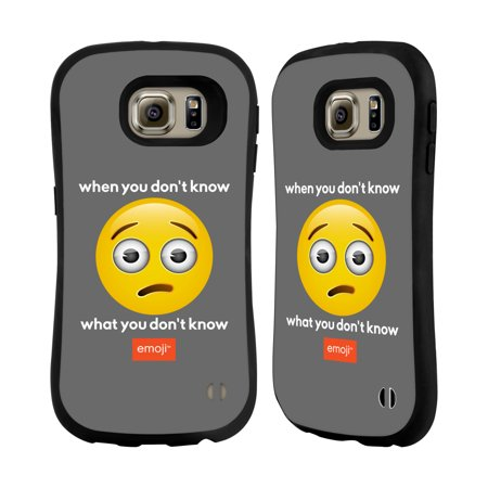 OFFICIAL EMOJI SPEAK HYBRID CASE FOR SAMSUNG PHONES - Walmart com