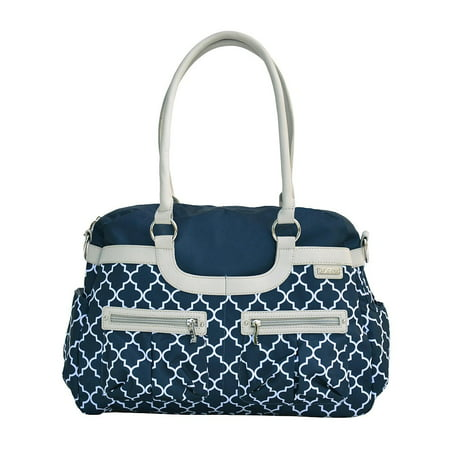 - JJ COLE Satchel Bag - Navy Arbor