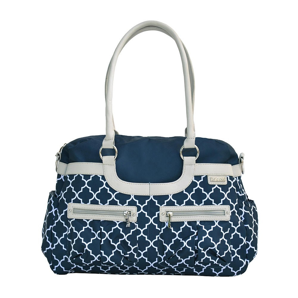 JJ COLE Satchel Bag - Navy Arbor