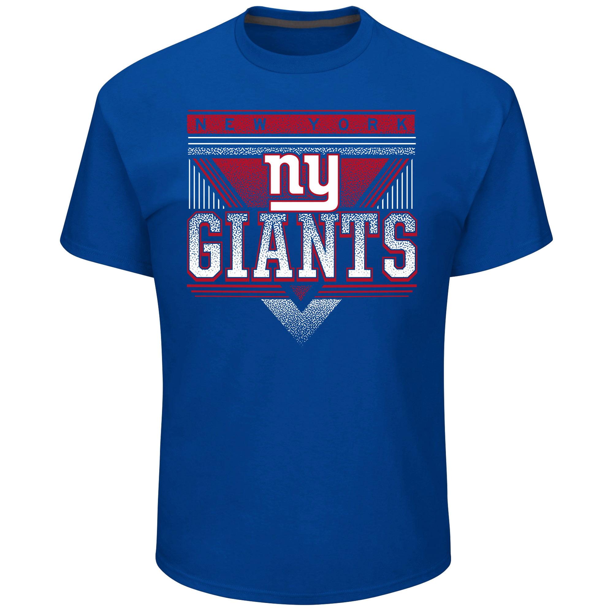 New York Giants Majestic Keep Score T-Shirt - Royal