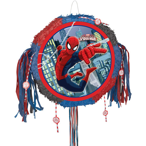Spiderman Pinata, Pull String