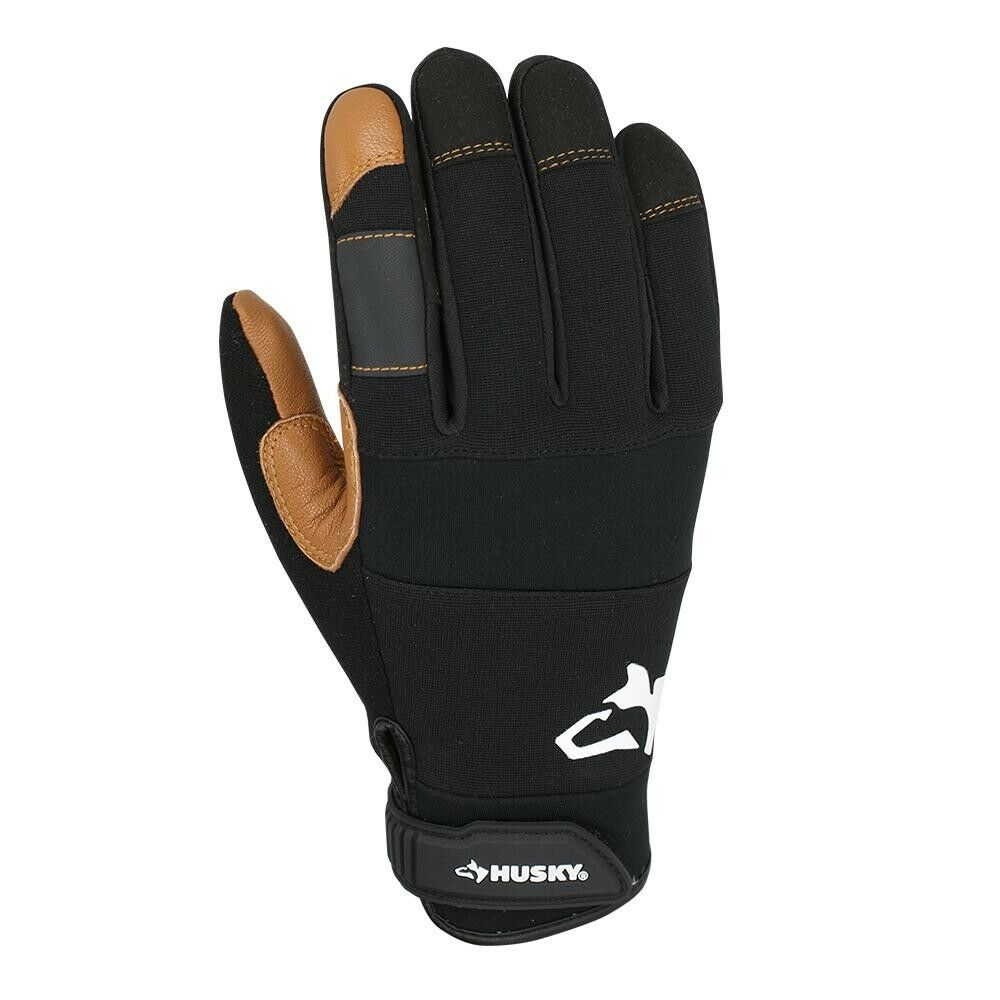 3 per Pack Husky Large New Light Duty Glove