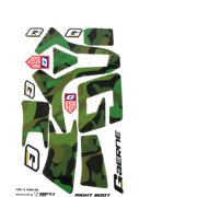 Gaerne SG-12 Boot Sticker Kit Army Camo