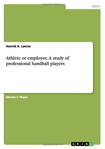 Athlete or Employee. a Study of Professional Handball Players by Bod Third Party Titles