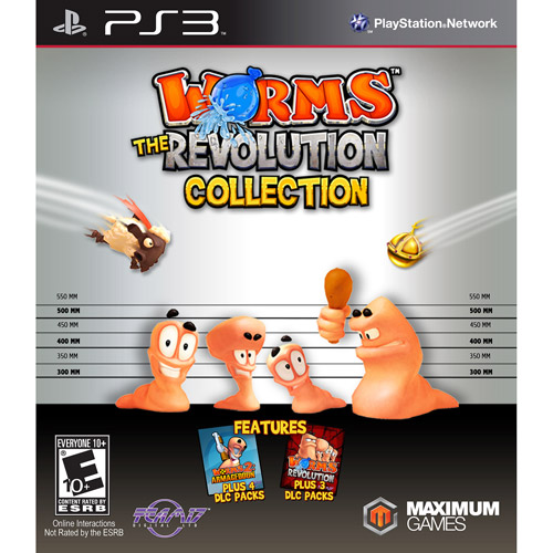 Worms The Revolution Collection (PS3)