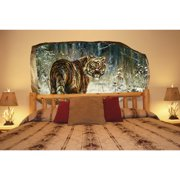 Startonight 3D Mural Wall Art Photo Decor Beautiful Tiger Amazing Dual View Surprise Wall Mural Wallpaper for Bedroom Animals Wall Paper Art Gift Large 47.24 ?? By 86.61 ??