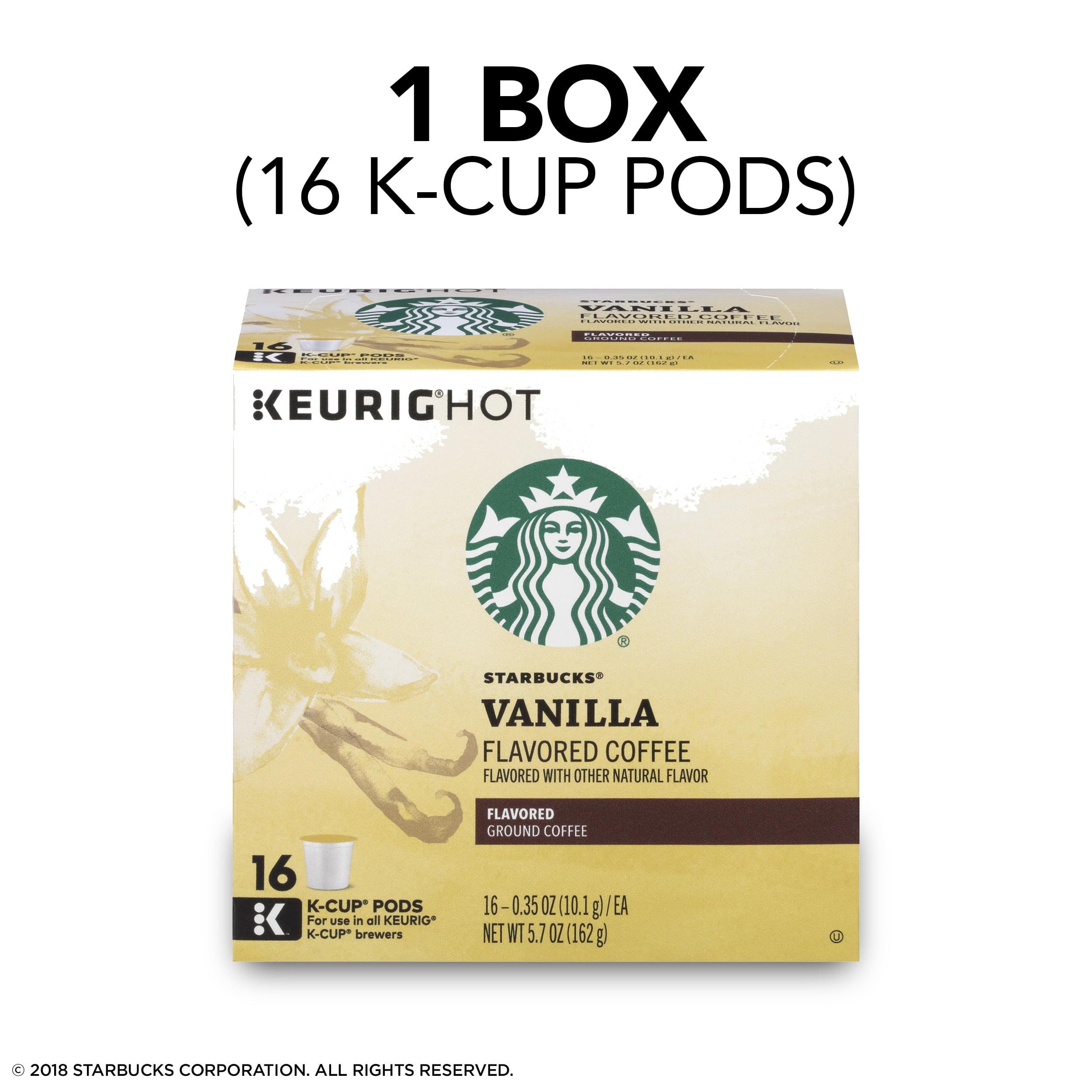 Starbucks Vanilla Flavored Blonde Roast Single Cup Coffee for Keurig ...
