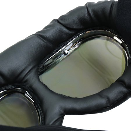 Black Offroad Motorcycle Sunglasses Outdoor Cycling Riding Protective Goggles - image 1 de 4