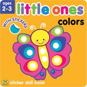 Little Ones Sticker Skill Book, Colors