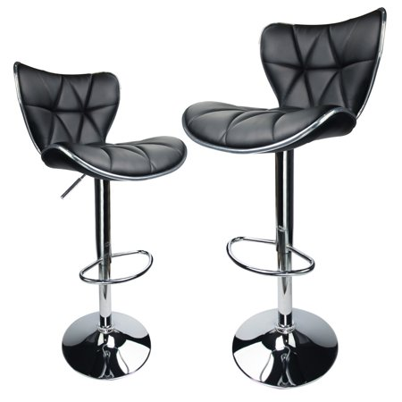 Wondrous Adjustable Swivel Bar Stools Hydraulic Chair Bar Stools Set Of 2 Inzonedesignstudio Interior Chair Design Inzonedesignstudiocom