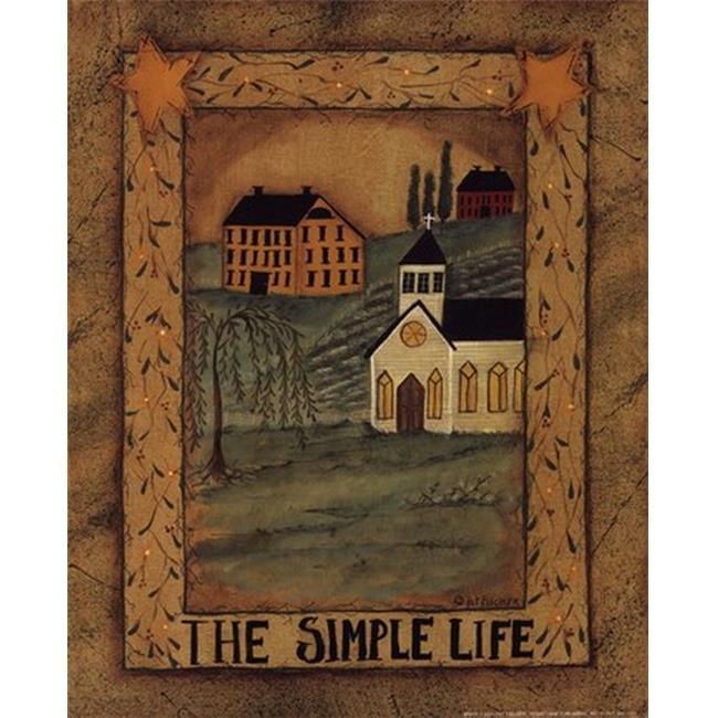 CO / PEN C01PAT97 La copie d'affiche de Simple Life par Pat Fischer - 8 x 10 - image 1 de 1
