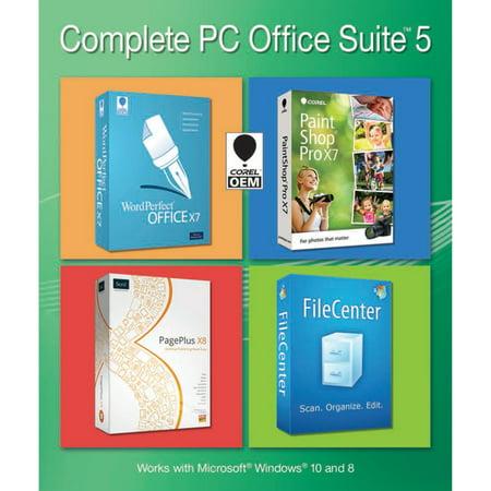 Corel Complete PC Office Suite 5 (Digital Download Bundle)