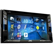 """JVC Refubished KW-V120BT Double DIN Bluetooth In-Dash DVD/CD/AM/FM Car Stereo w/ 6.2"""" Touchscreen and Pandora support"""