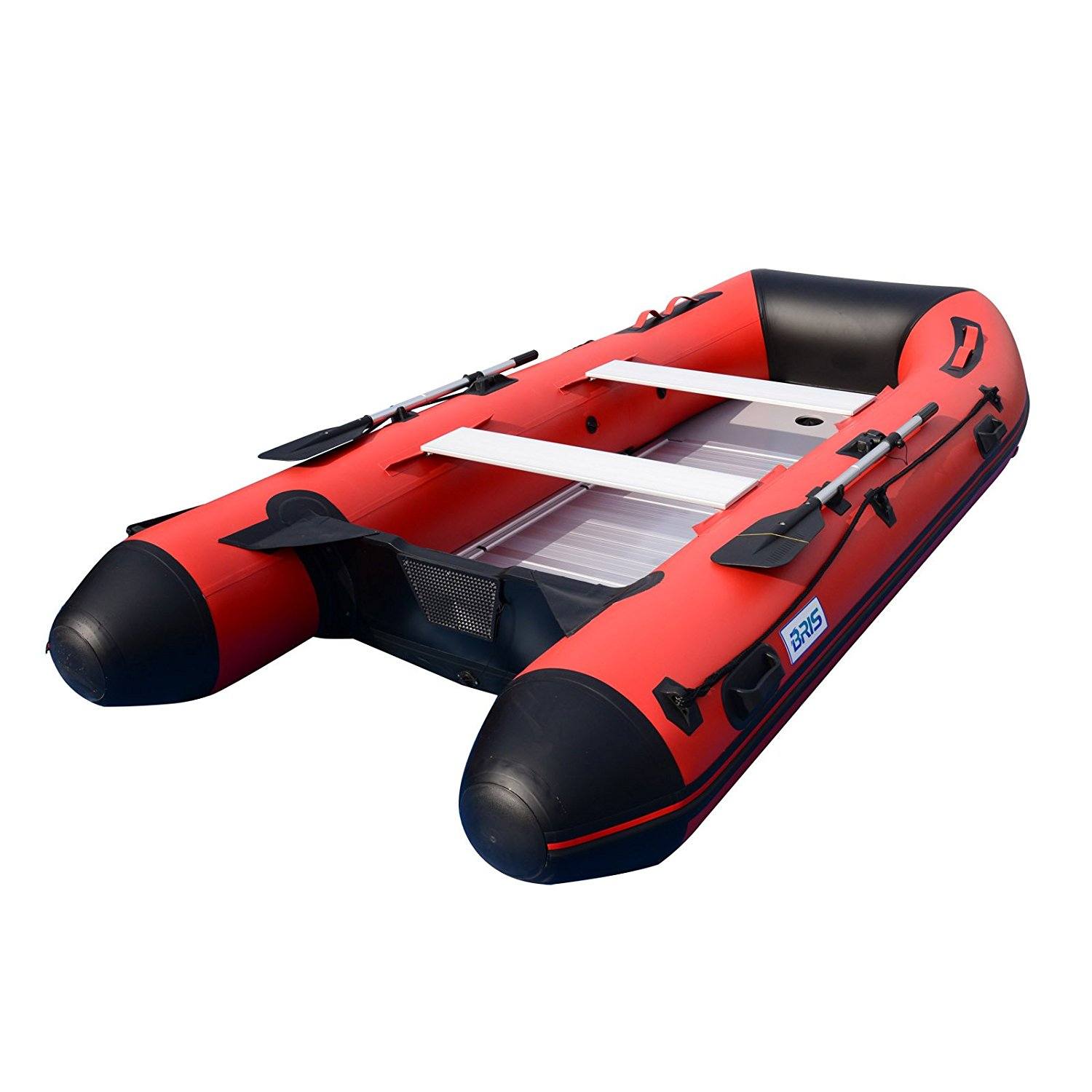 BRIS 12Ft Inflatable Boat Dinghy Raft Pontoon Rescue Dive Fishing Boat