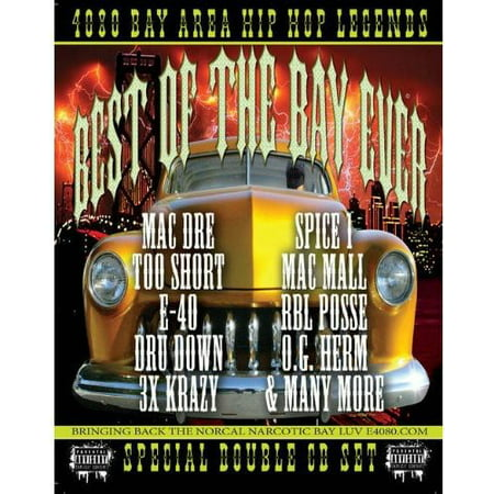 4080 Bay Area Hip Hop Legends: Best Of The Bay Ever