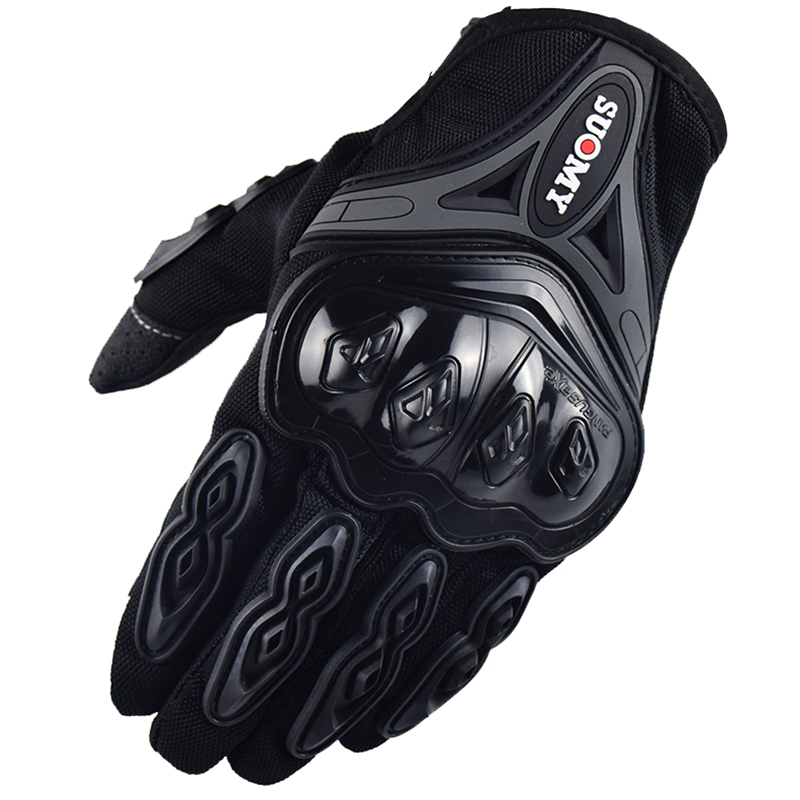 Motorcycle Gloves Touch Screen Breathable Wearable Protective Quality Gloves