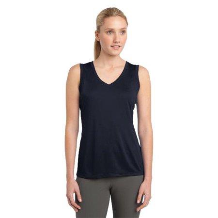 Sport-Tek® Ladies Sleeveless Posicharge® Competitor™ V-Neck Tee. Lst352 True - image 1 de 1