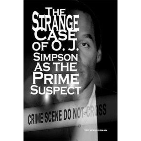 The Strange Case of O. J. Simpson as the Prime Suspect - - Les Simpson Le Prime D Halloween