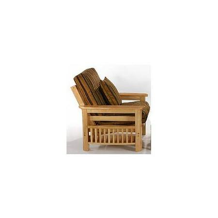 Portofino Futon Sleeper Club Chair In Natural