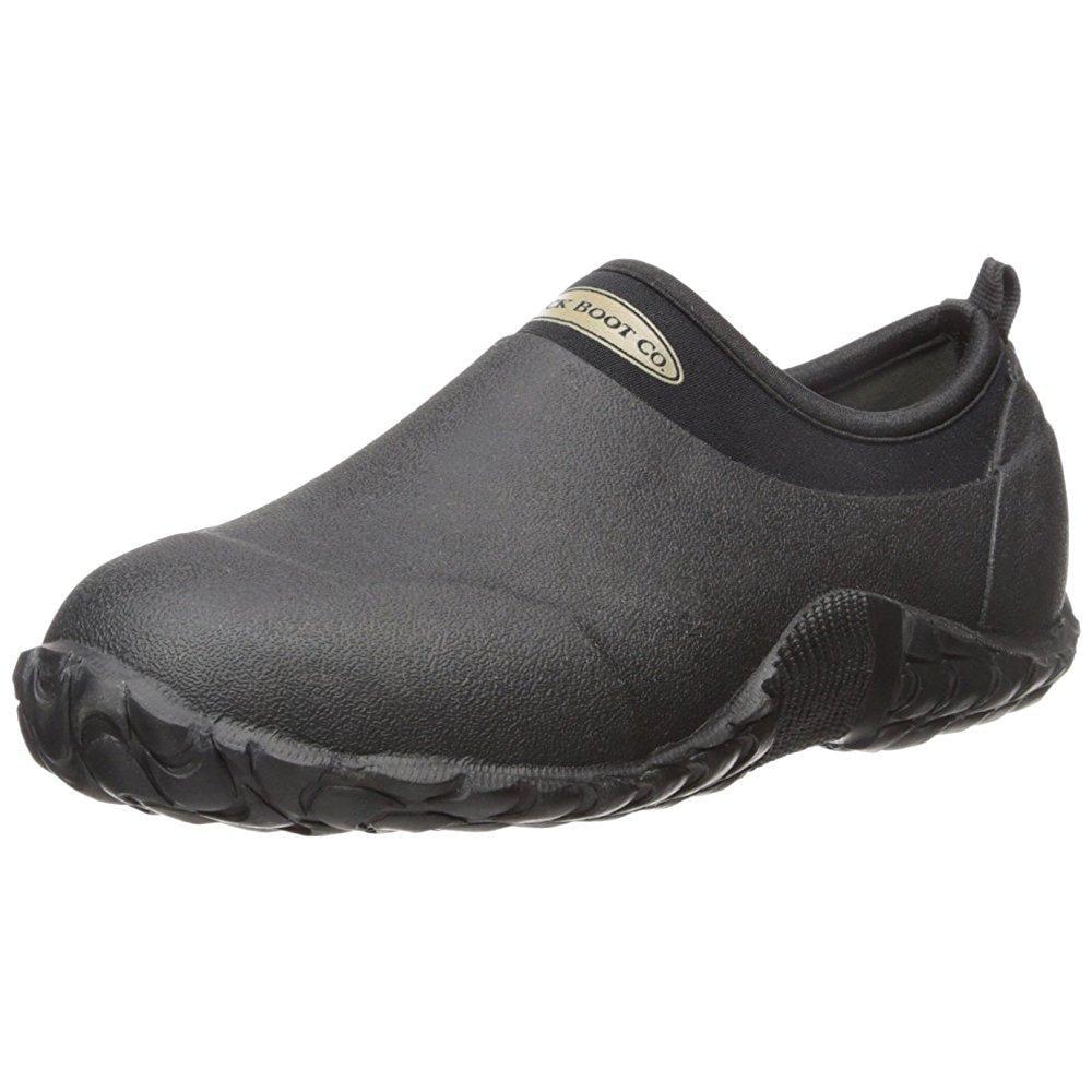 MUCK boots edgewater camp hiking shoe,black,10 m us mens