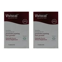2 Pack Viviscal Hair Growth Program 60 Tablets each