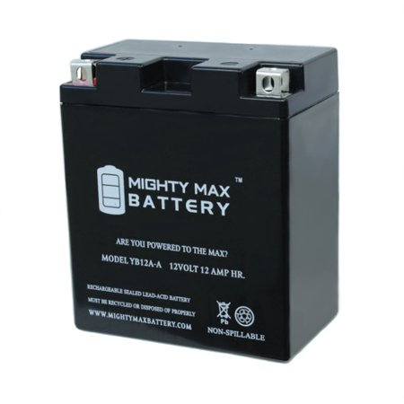 YB12A-A 12V 12AH Battery Replacement for Honda CB400A 1978