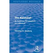 The Kabbalah (Routledge Revivals) (Paperback)