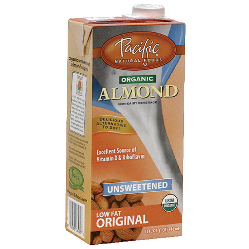 Pacific Natural Foods Original Almond Non-Dairy Beverage, 32 oz, 12ct (Pack of 12)