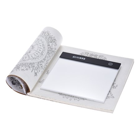 Portable A5 LED Light Box Drawing Tracing Tracer Copy Board Table Pad Panel Copyboard Diamond Painting Tool (Light Table Drawing)