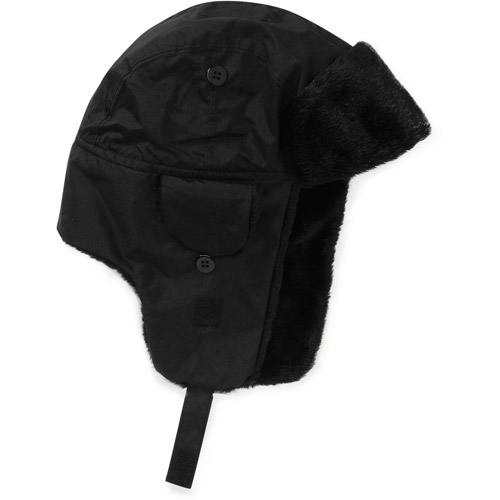 Cold Front Boy's Trapper Hat with Faux Fur