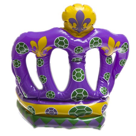 Mardi Gras Crown Inflate - Inflated Costumes