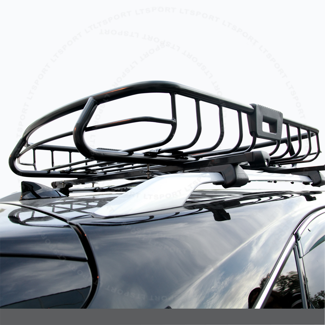 LT Sport® Brand Fit 04-14 mazda rooftop storage roof rack cargo luggage carrier basket - Free Shipping